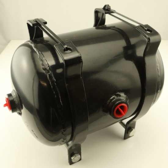 AIR RESERVOIR 5 LITRE W-BRACKETS